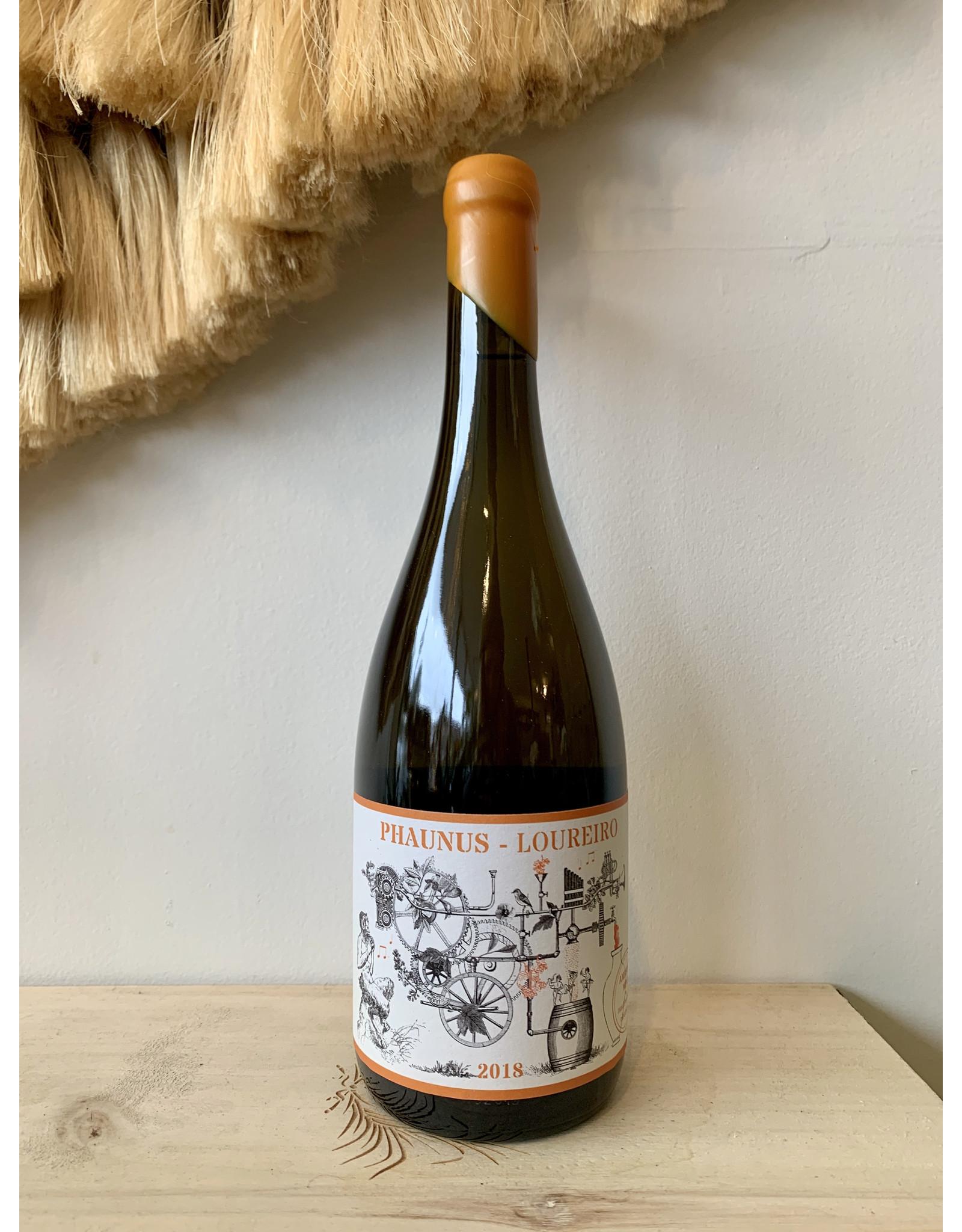 Aphros Phaunus Amphora Loureiro Vinho Verde Orange Wine 2019