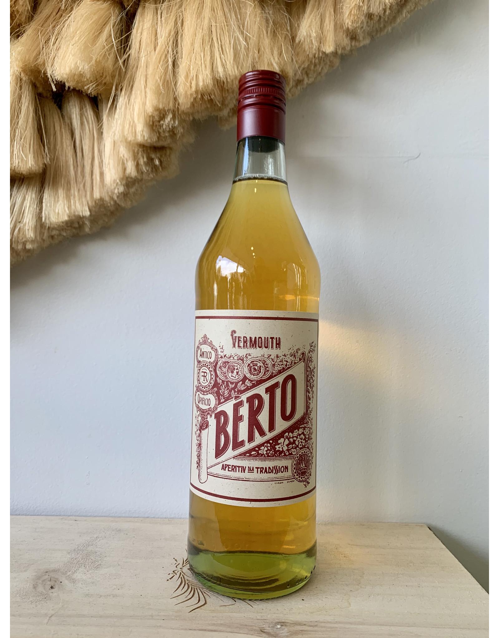 Bèrto Vermouth Aperitiv Dla Tradission Bianco (NV) 1L
