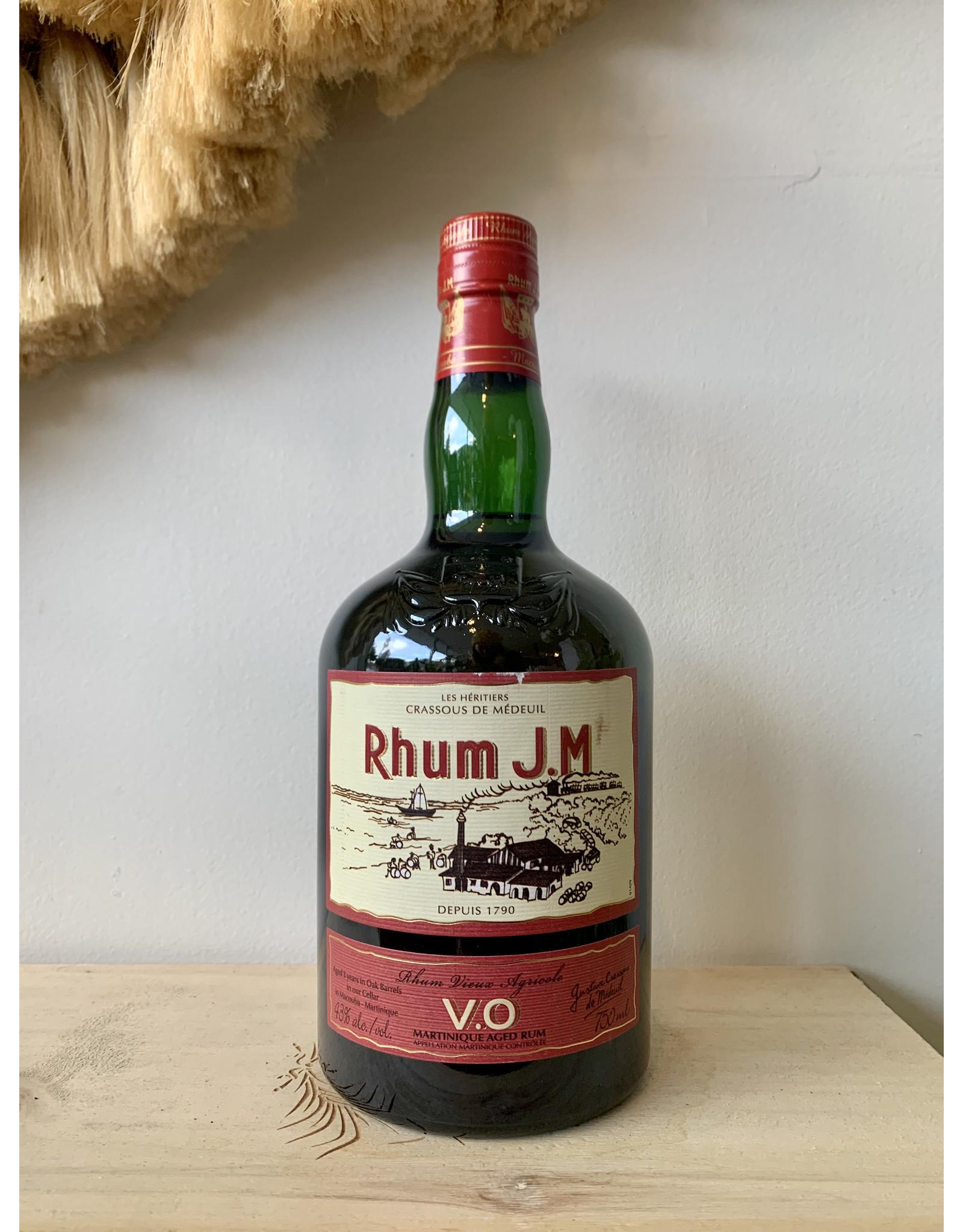Rhum J.M V.O Rum Agricola Martinique