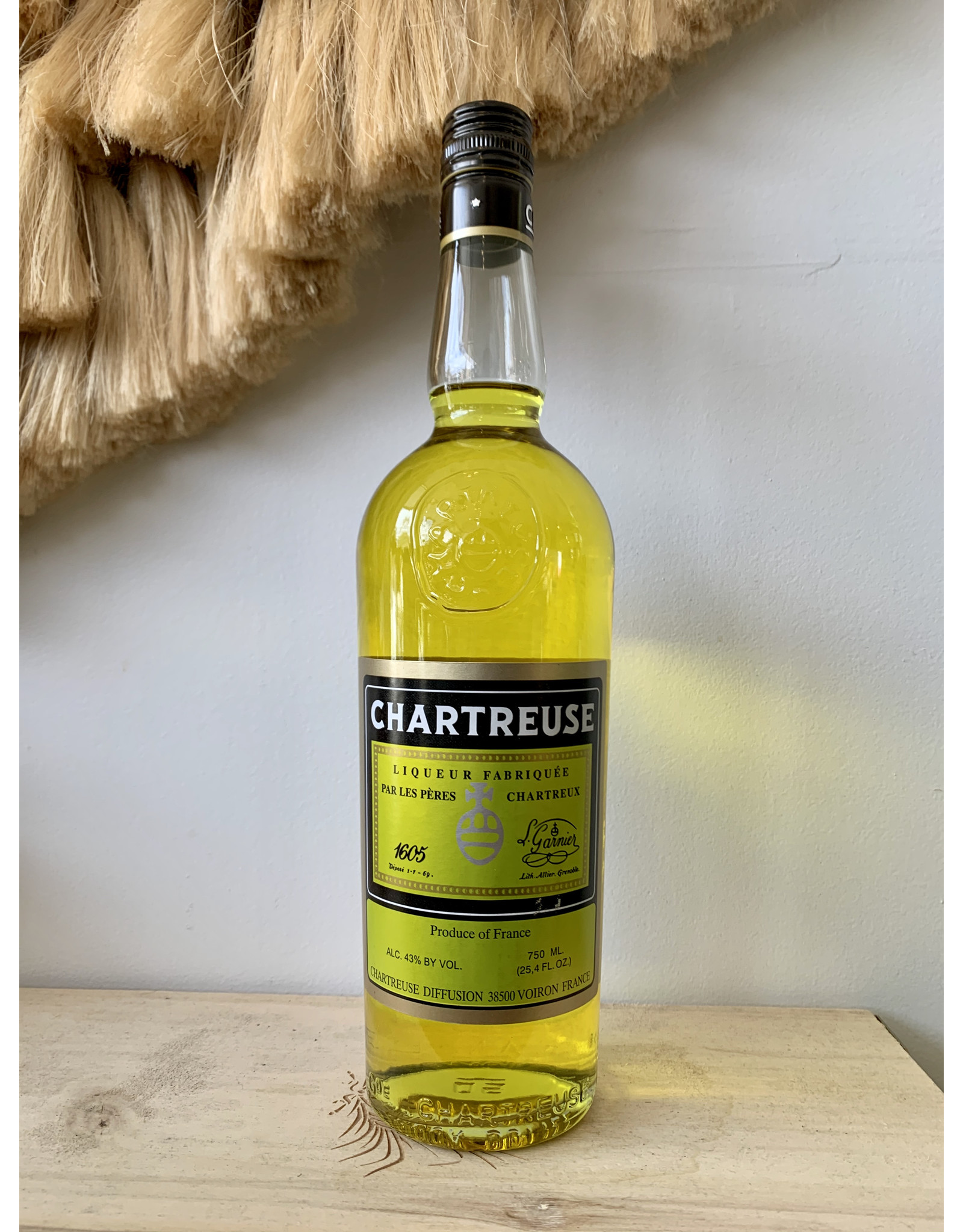 Chartreuse Yellow Liqueur 750 mL