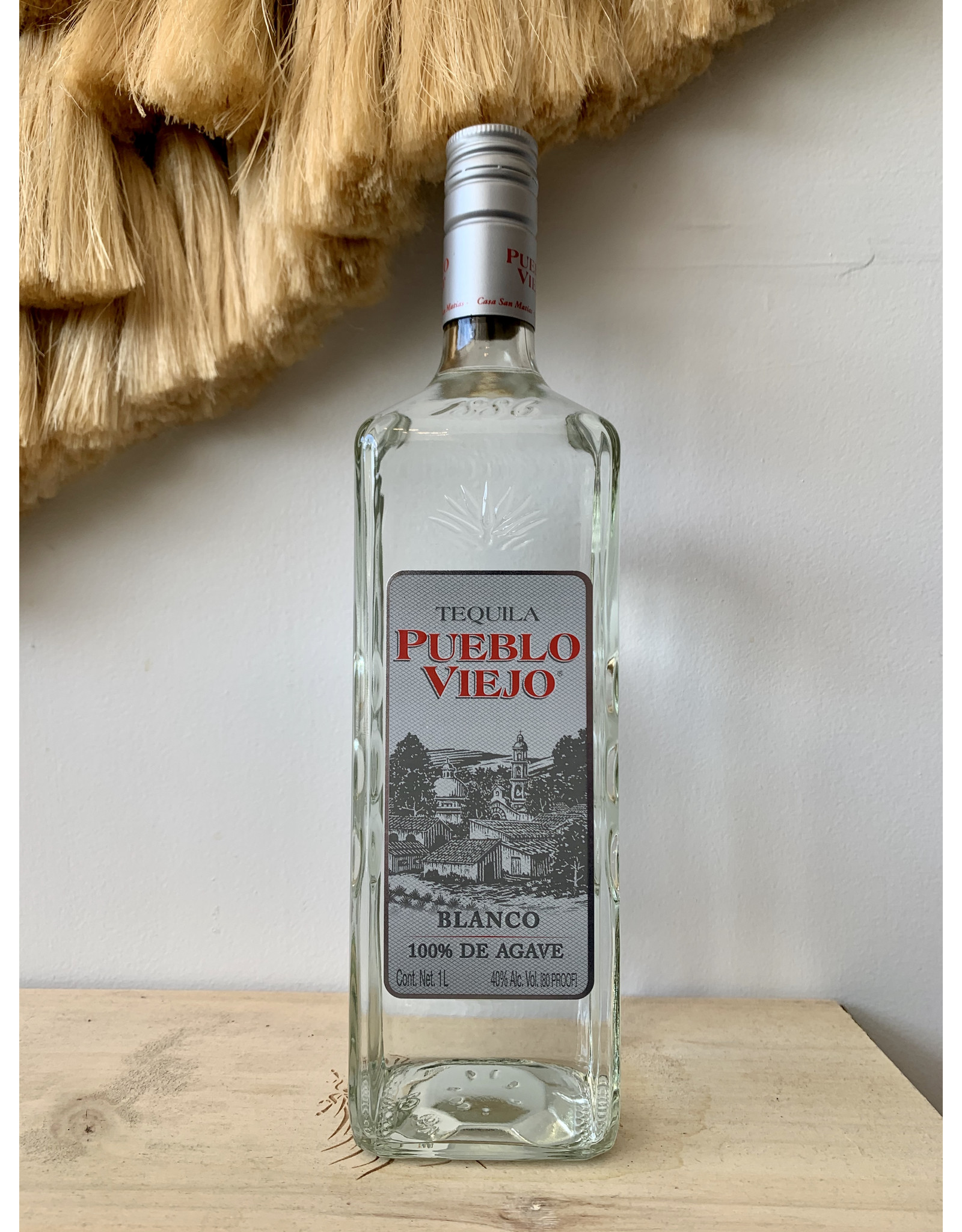 Pueblo Viejo Blanco Tequila