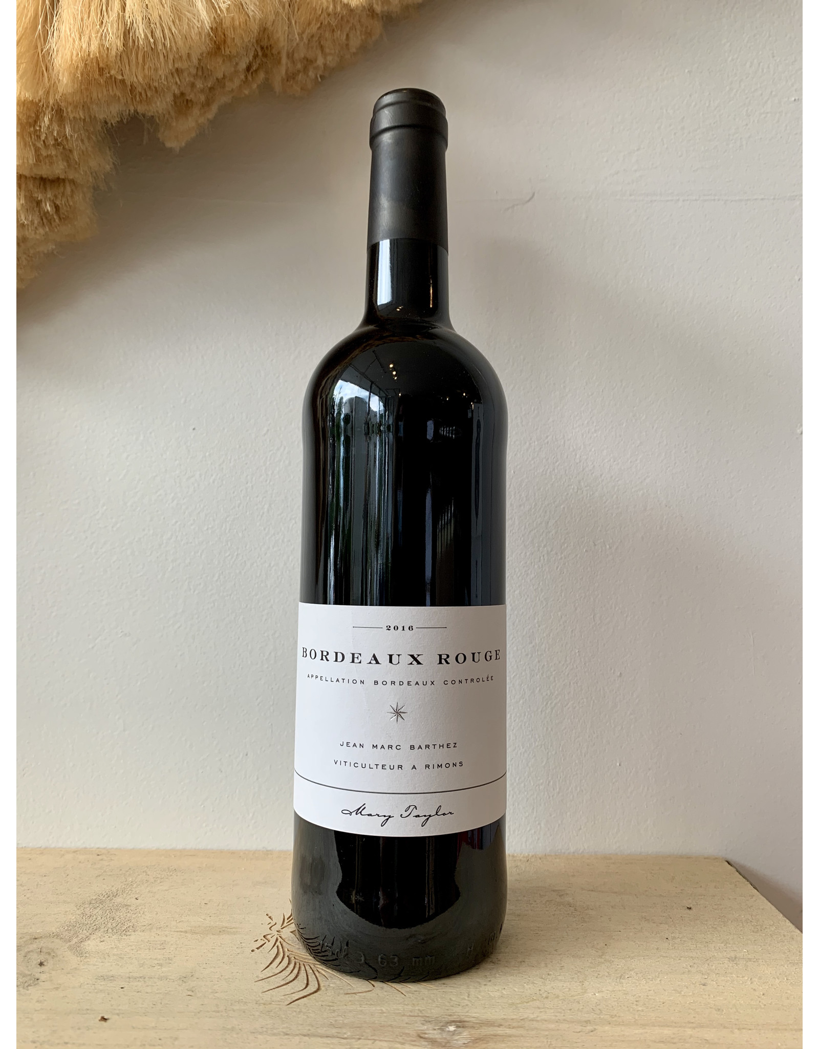 Mary Taylor Bordeaux Rouge 2016