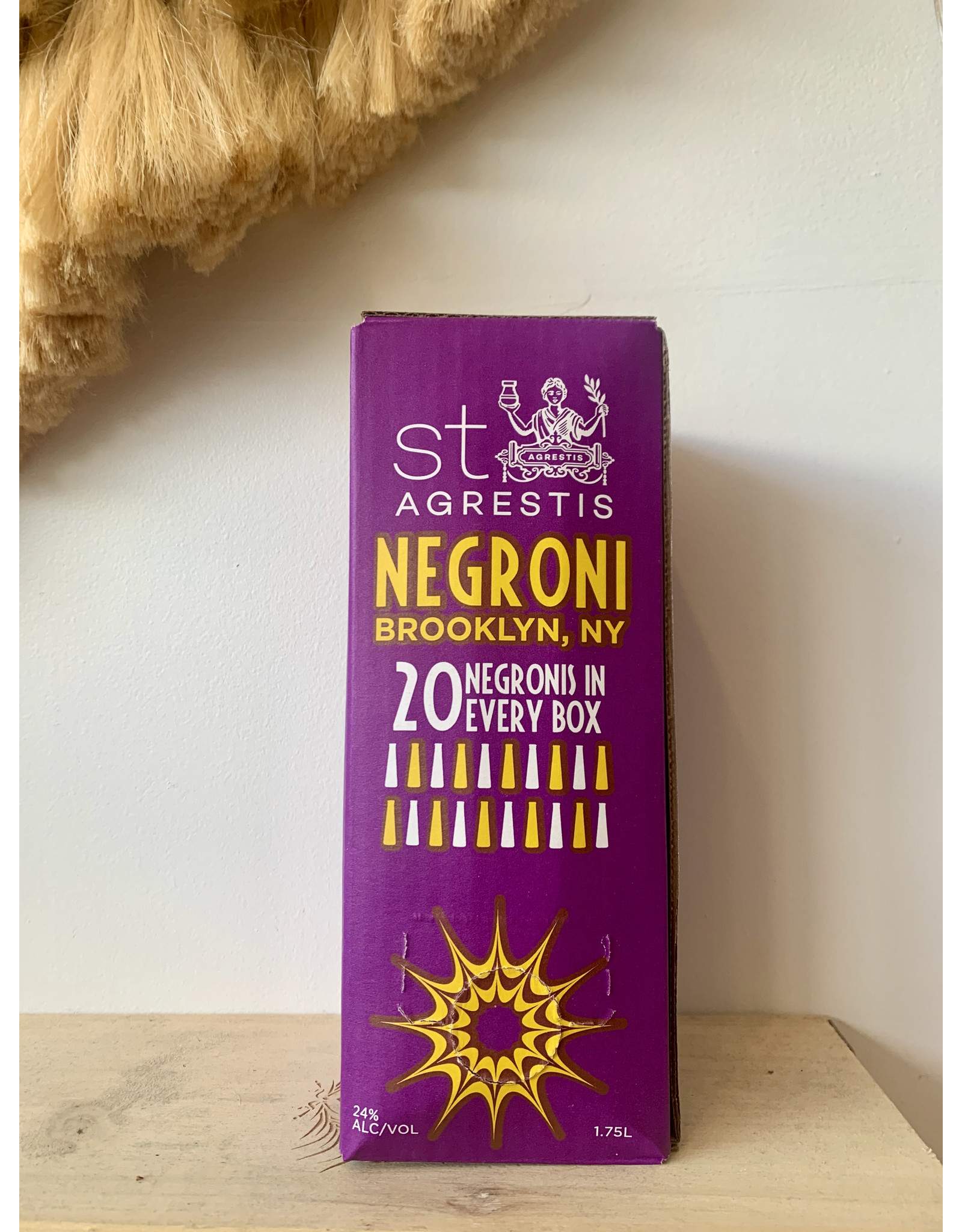 St. Agrestis Negroni in a Box 1.75L