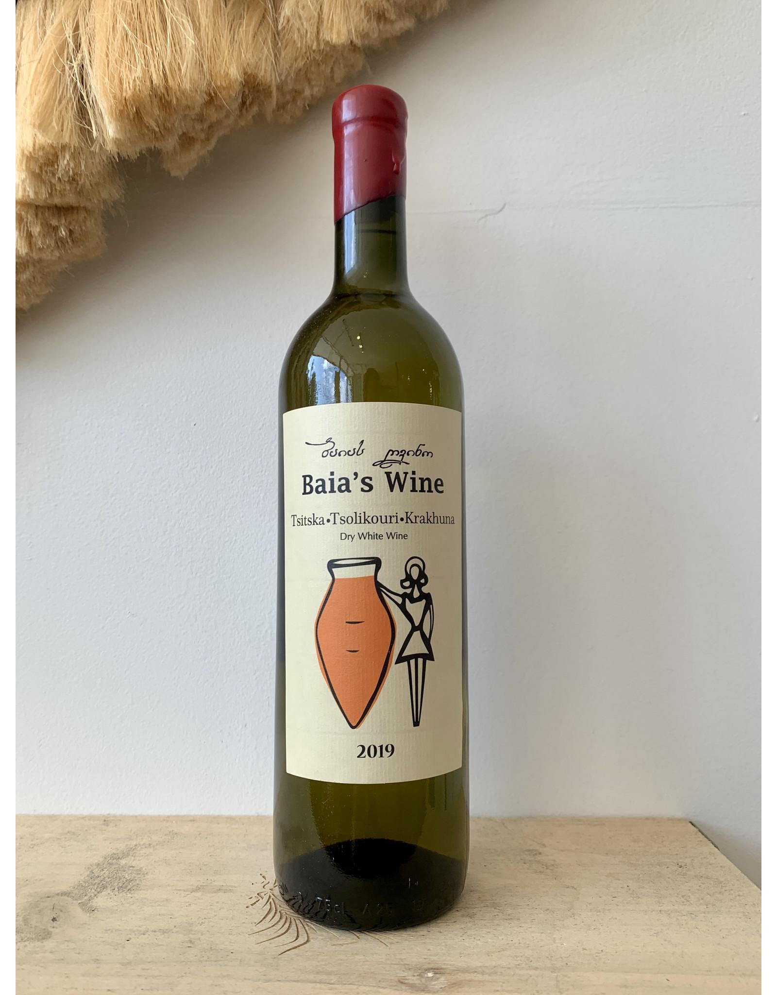 Baia's Wine Krakhuna White Blend 2019