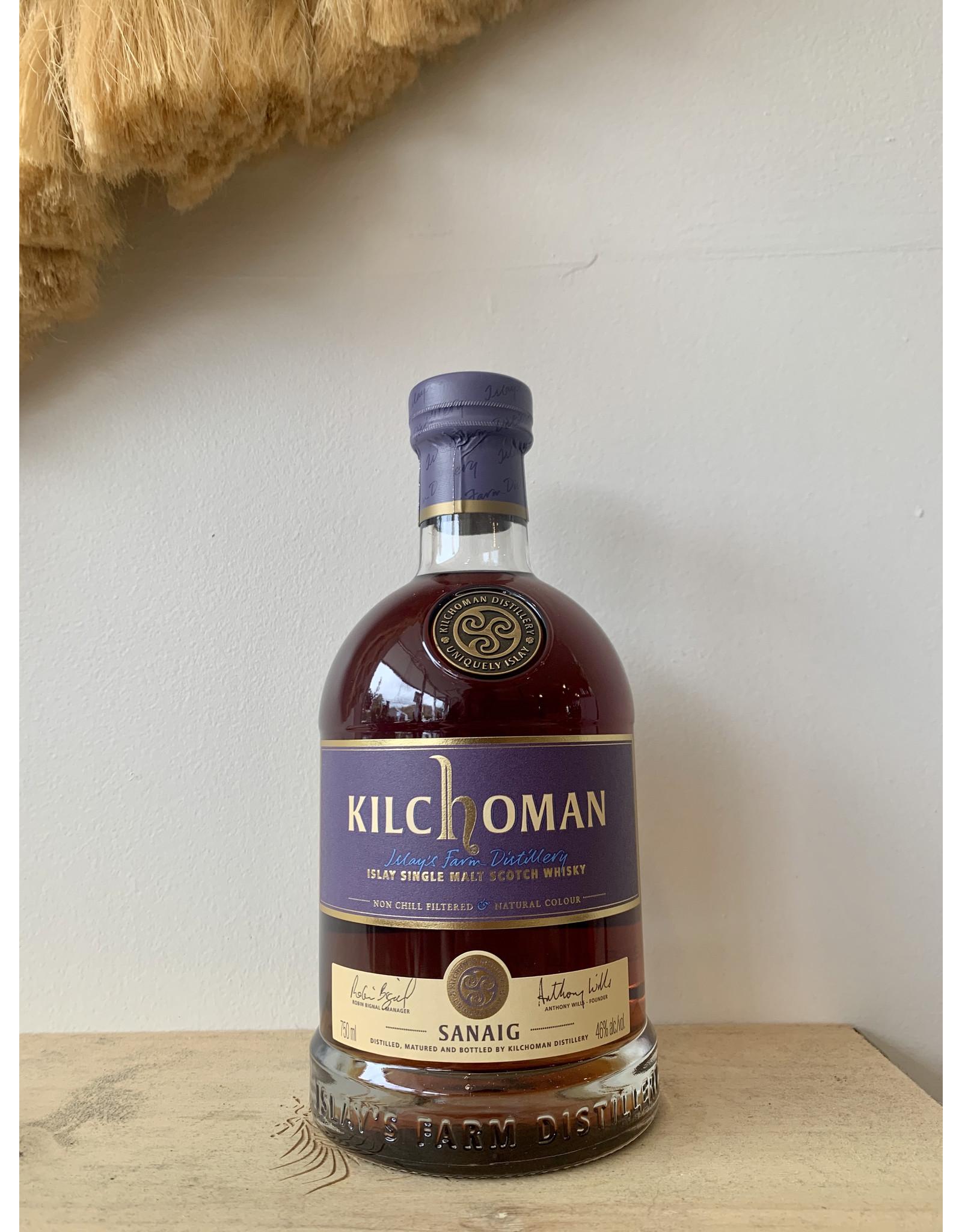 Kilchoman Sanaig Islay Single Malt Scotch Whisky