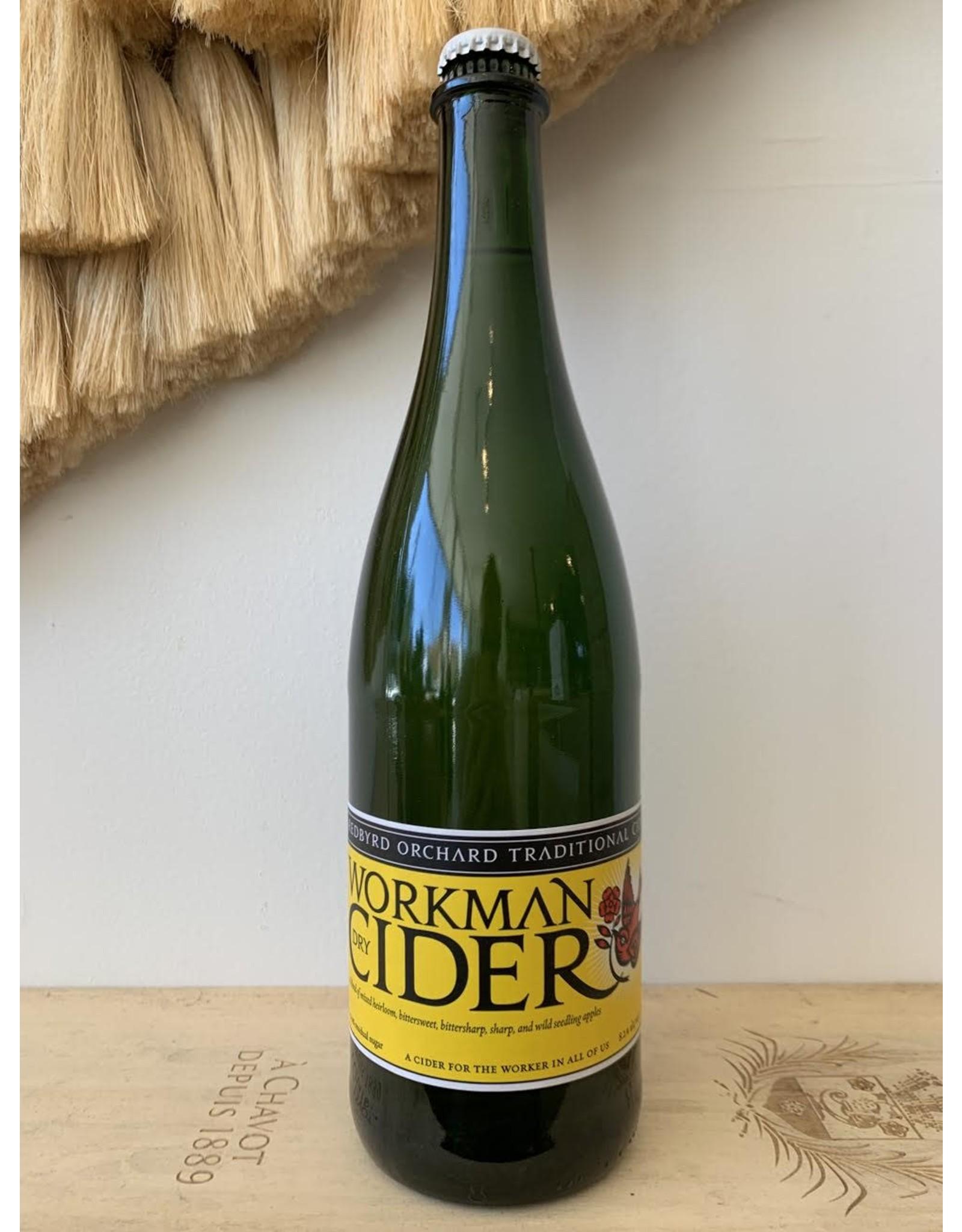 Redbyrd Workman Dry Cider