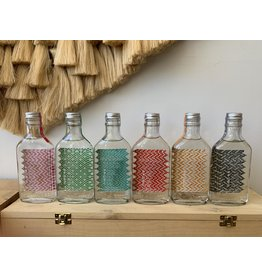 Derrumbes Mezcal Rainbow Flask 6 Pack