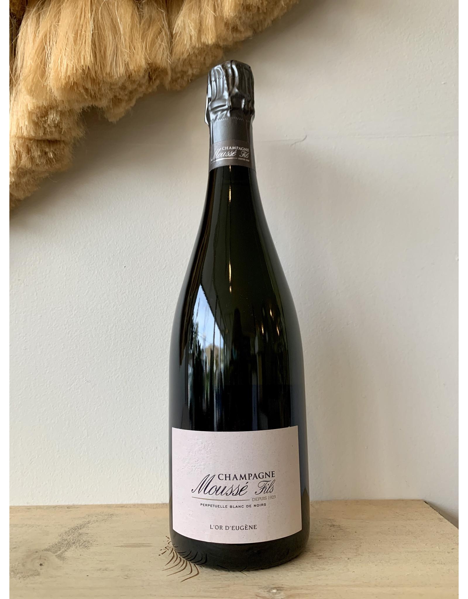 Champagne Moussé Fils L'Or d'Eugène Blanc de Noirs Perpetuelle