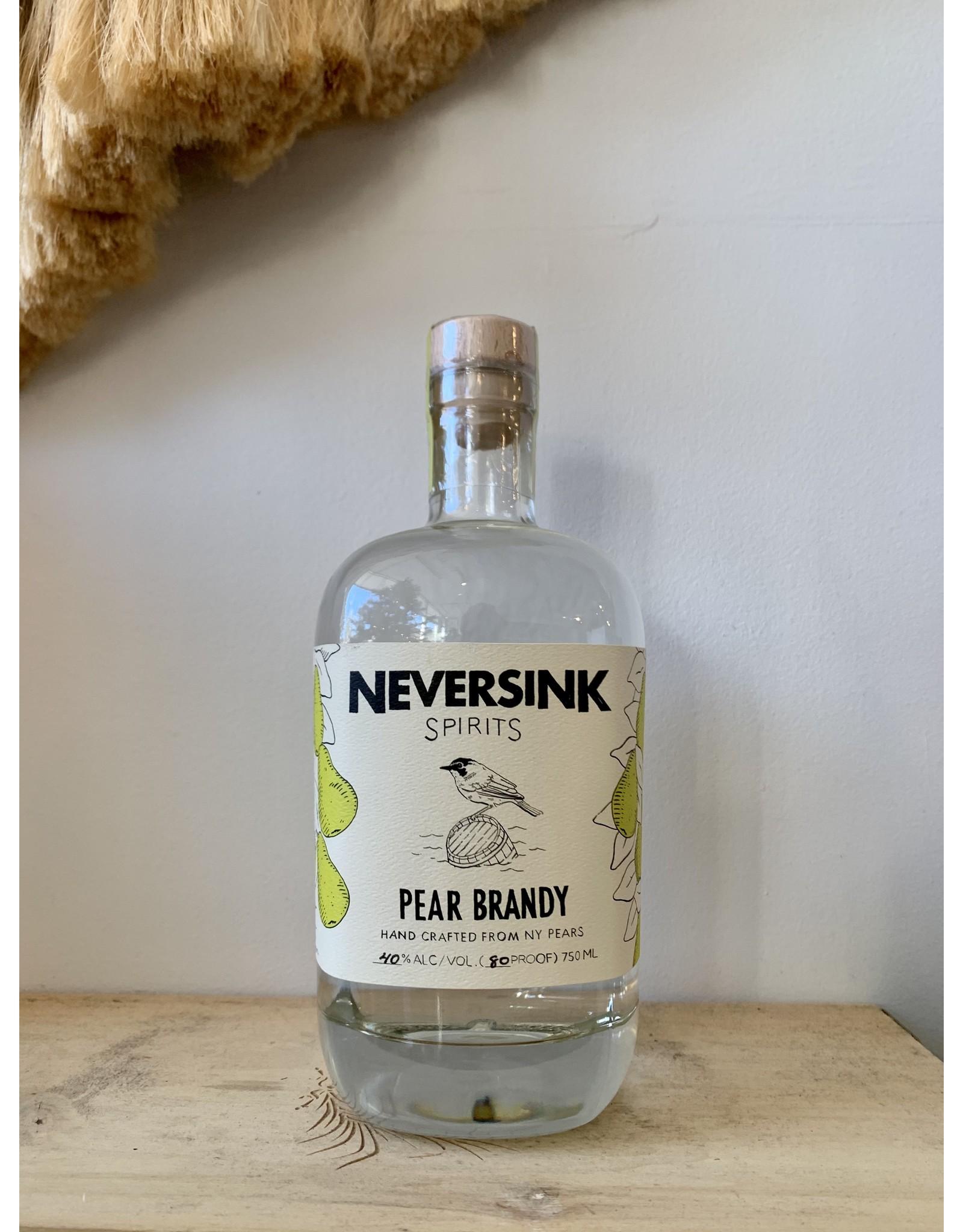 Neversink Pear Brandy 750mL