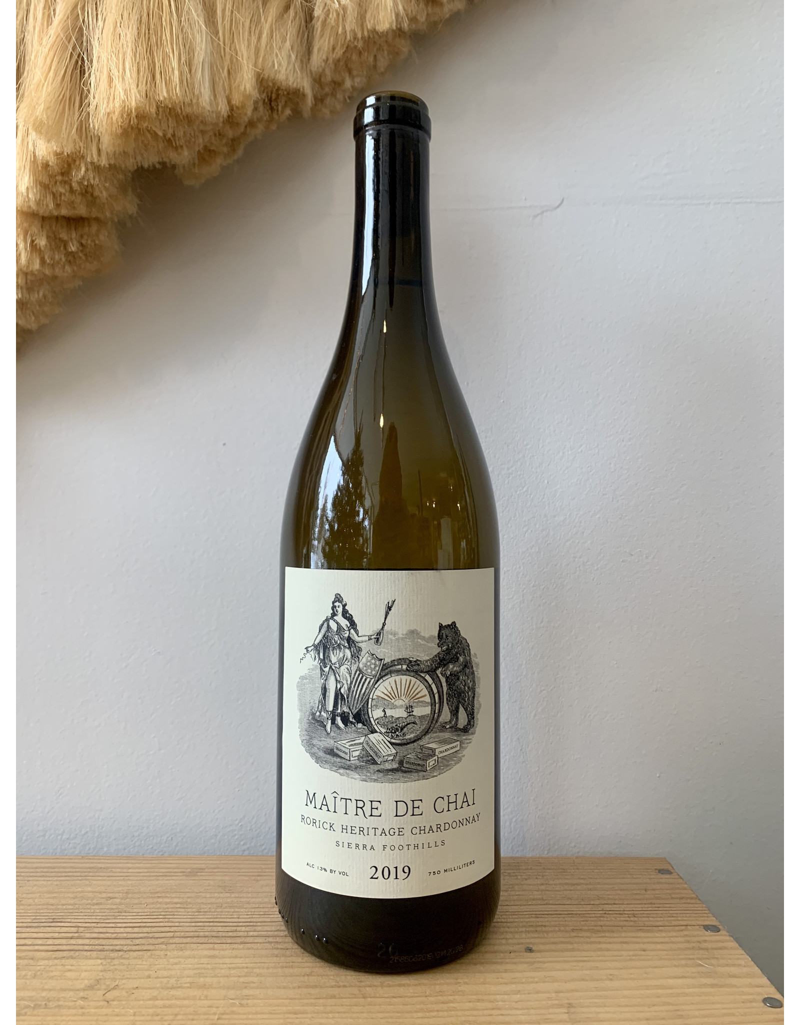 Maître de Chai Rorick Heritage Chardonnay Sierra Foothills 2019