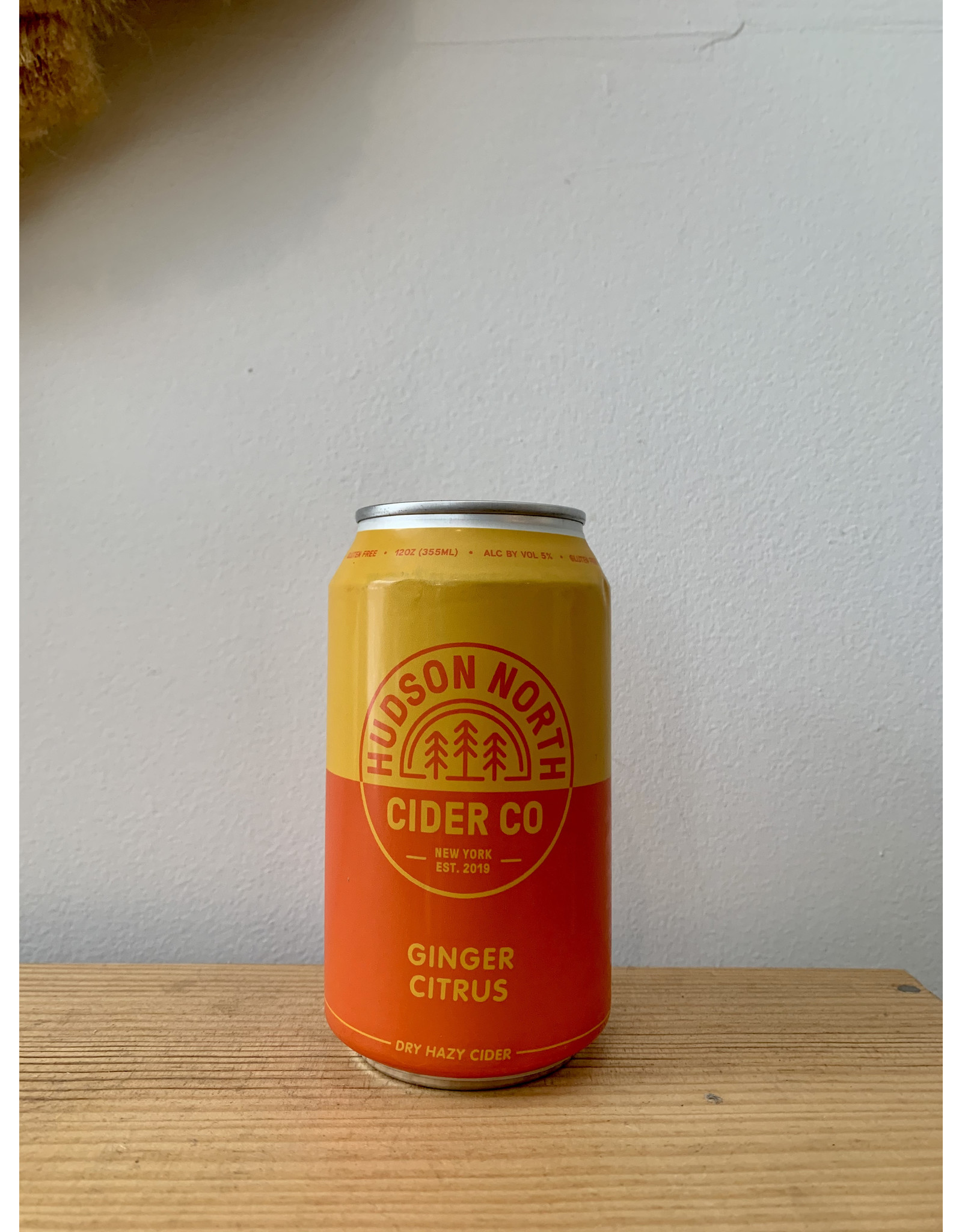 Hudson North Ginger Citrus Cider Can