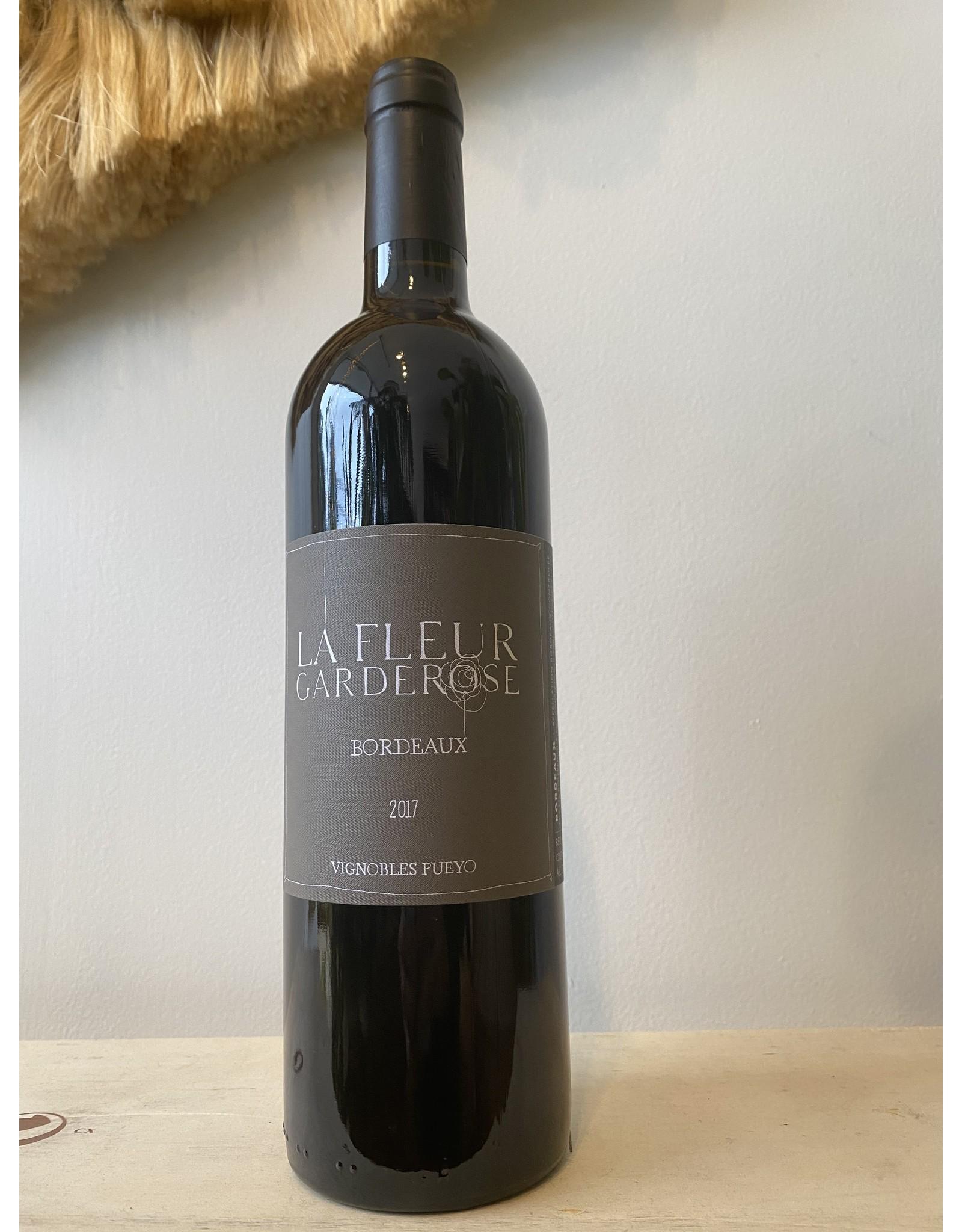 """Vignobles Pueyo """"La Fleur Garderose"""" Bordeaux 2017"""
