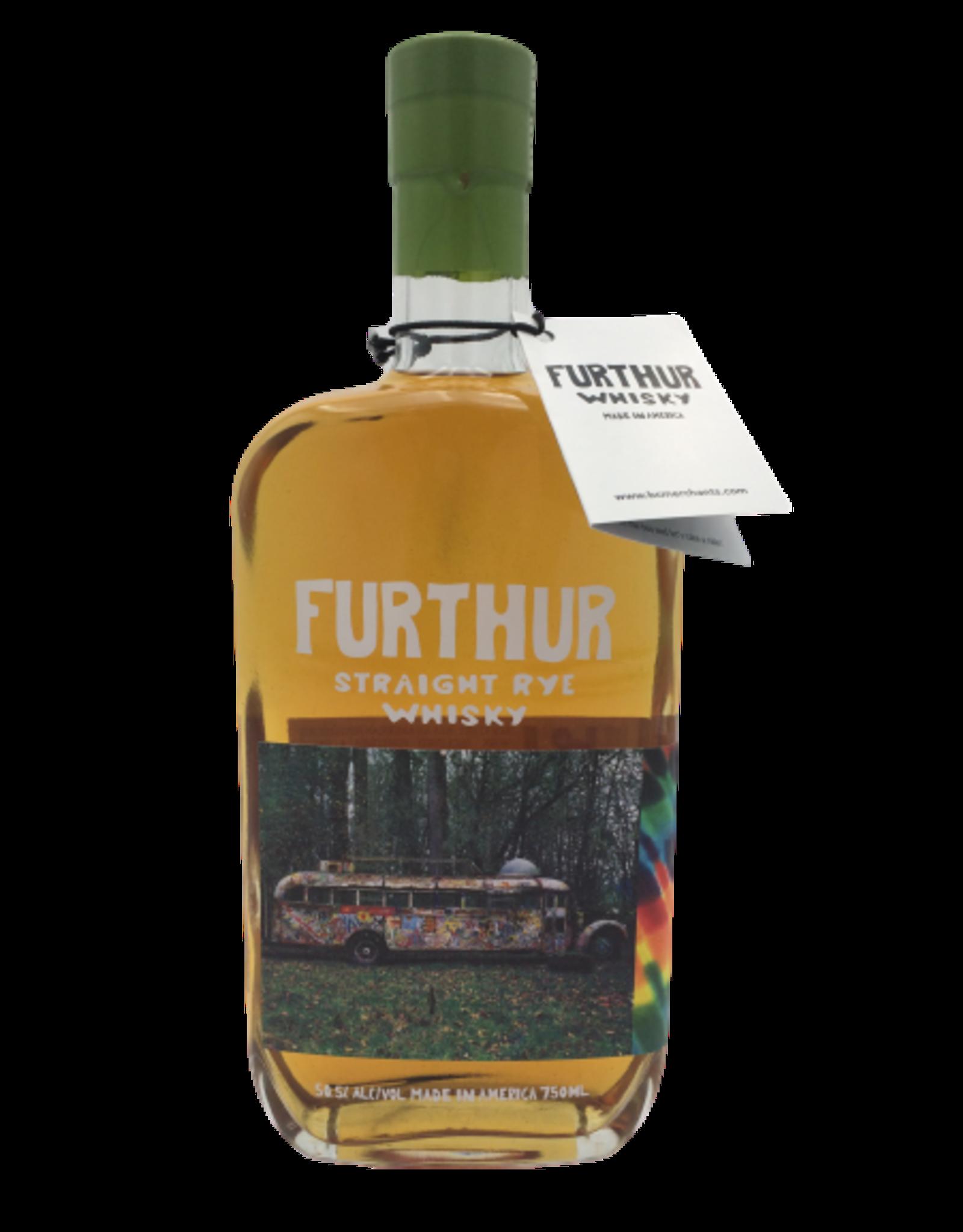 FURTHUR Rye Whiskey PREORDER