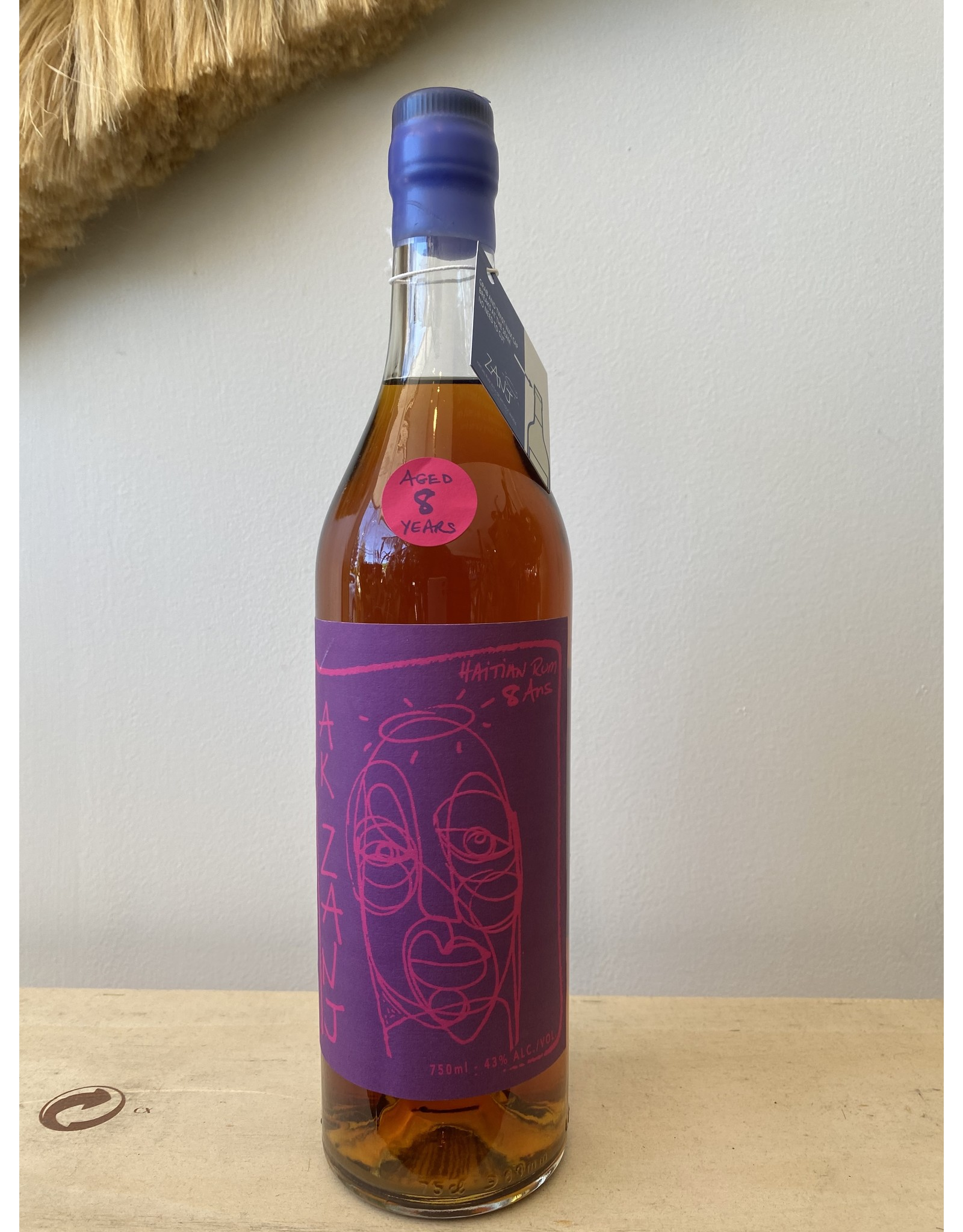 Ak Zanj Haitian Dark 8 Year Rum