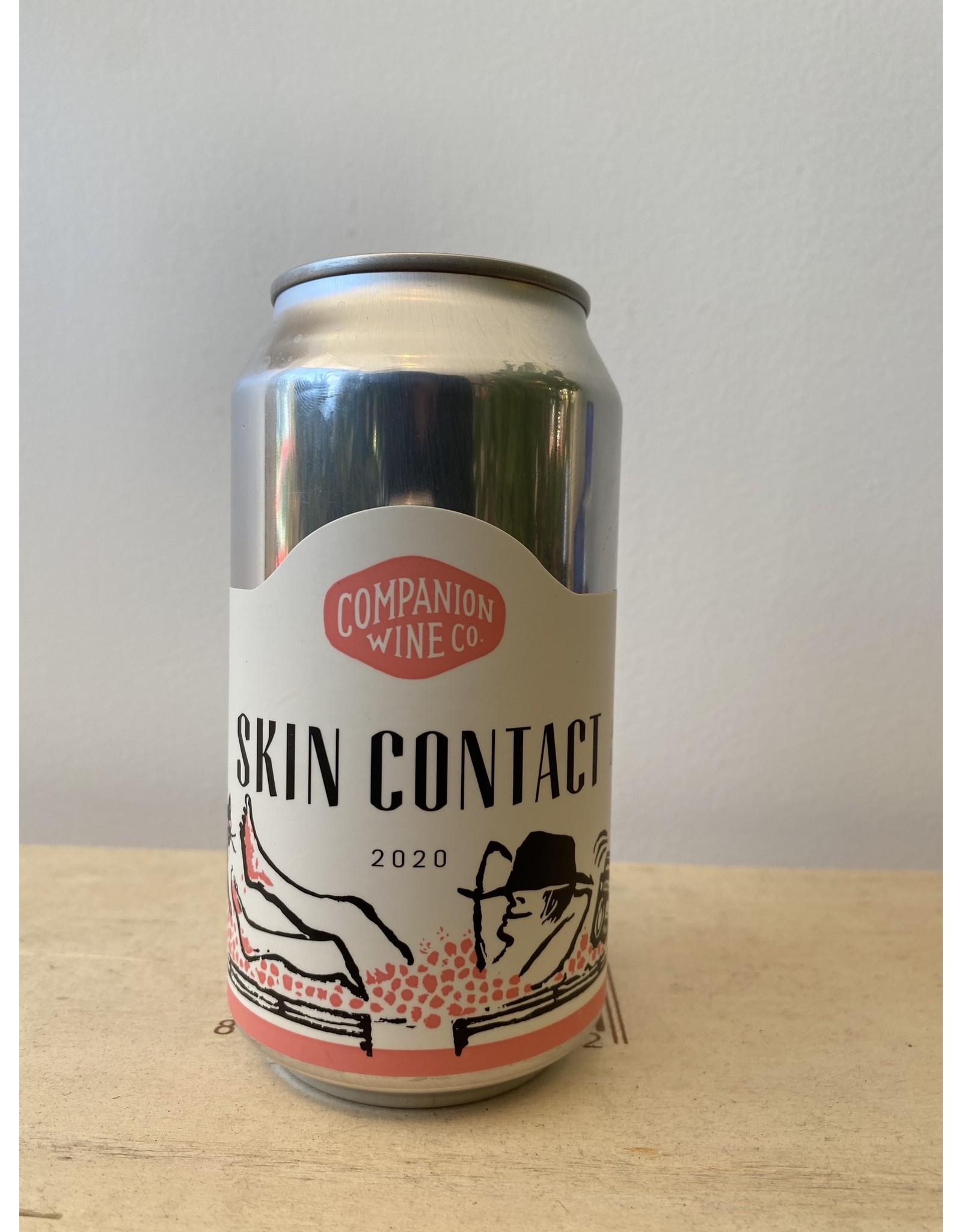 "Companion Wine Company ""Skin Contact"" Can 2020"