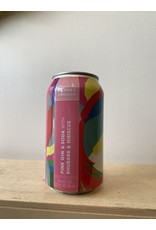 Collective Arts -Pink gin, Hisbiscus and Rhubarb 12 oz