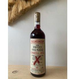 """Vini Rabasco Vino Rosso """"Cancell...ato"""" Abruzzo 2020"""