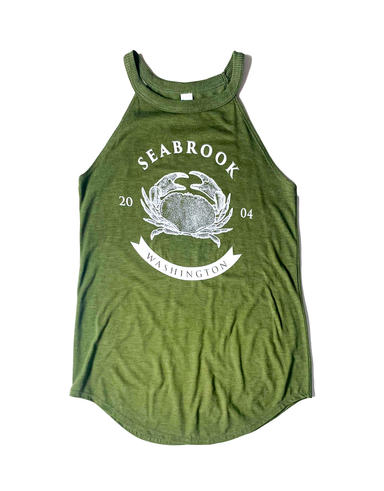 District Rocker Tank Green/White