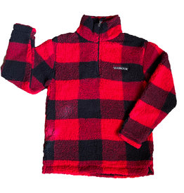 Boxercraft Buffalo Plaid Sherpa