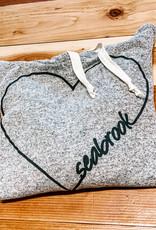 TechStyles Sportswear Adult Heart Hoodie