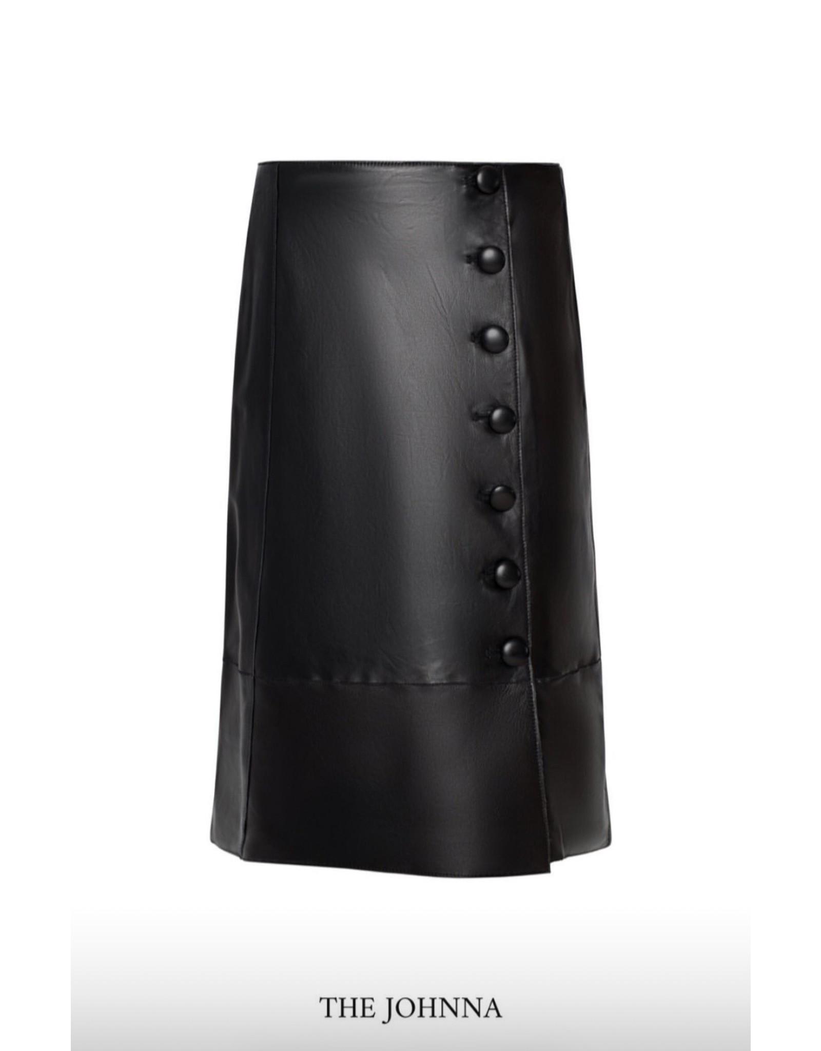 LaMarque Johnna Leather Skirt