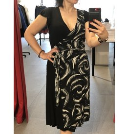 Rock n' Karma Past Wrap Dress