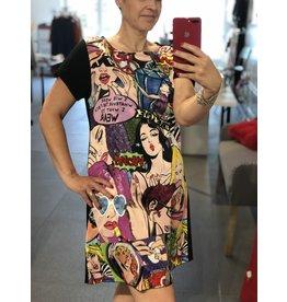 Rock n' Karma Pop Art Dress