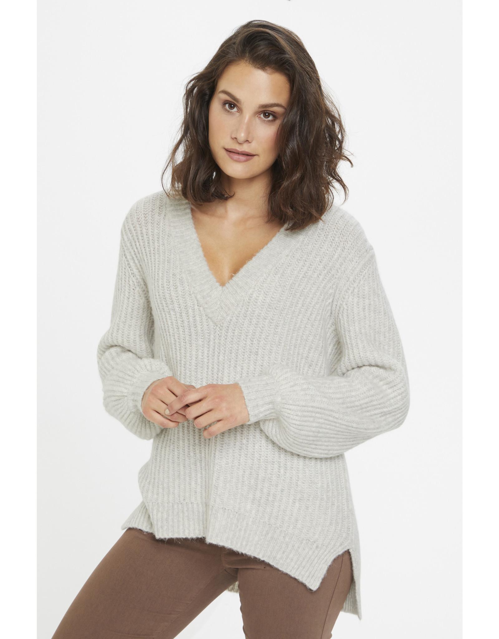 Kaffe Bitten Knit Pullover