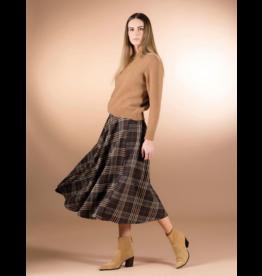Cristina Gavioli Classic Plaid Skirt