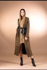 Cristina Gavioli Long Knit Coat