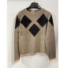 Cristina Gavioli Diamond Light Knit Sweater