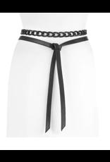 Brave Leather Catalan Chain Wrap Belt