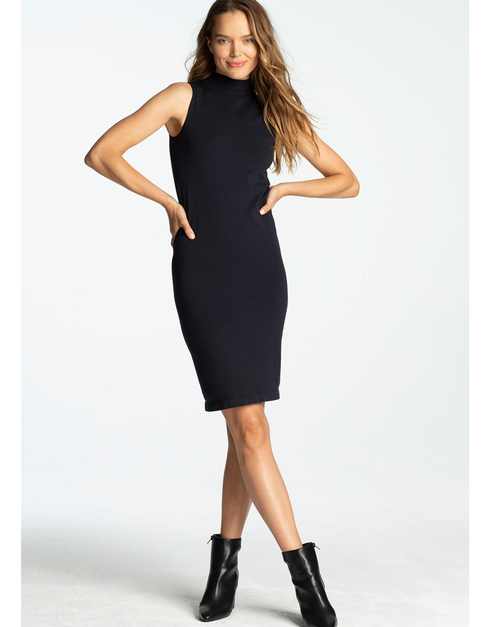 Yummie Yummie Smoothing Mock Neck Dress