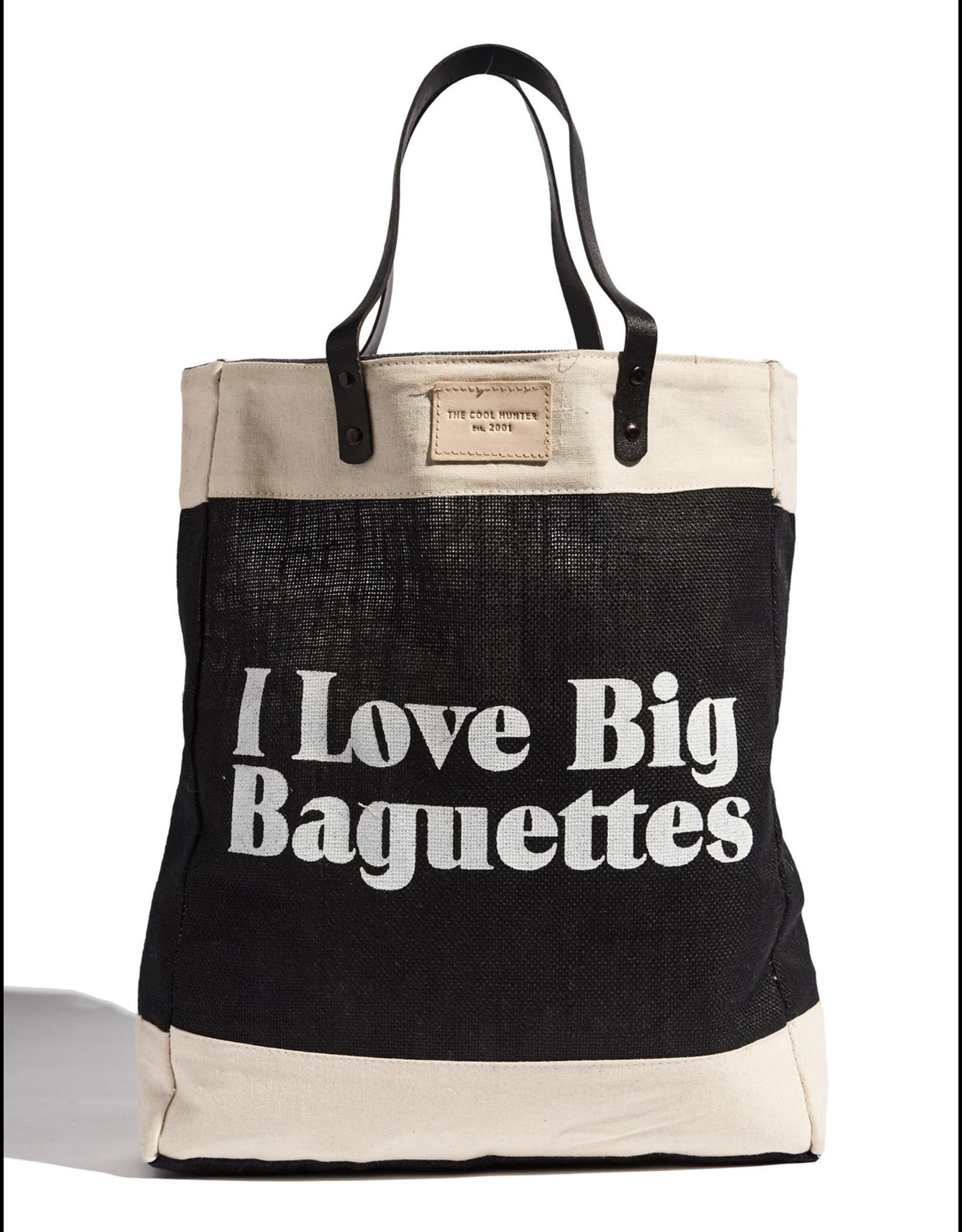 The Cool Hunter I Love Big Baguettes Lg Market Bag