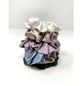 The Silk Girls Large Mulberry Silk Scrunchie