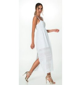 Cristina Gavioli Eyelet Dress