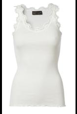 Rosemunde Iconic Silk Top with Lace/Rosemunde