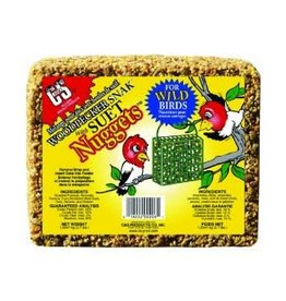 C AND S PRODUCTS CO INC P WOODPECKER SNACK WITH SUET NUGGETS 2.4LBS