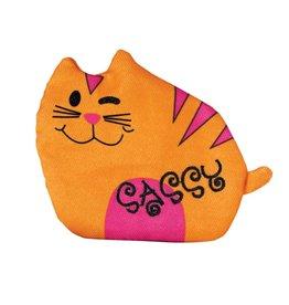 KONG COMPANY KONG REFILLABLES PURRSONALITY SASSY CAT TOY