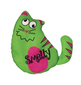 KONG COMPANY KONG REFILLABLES PURRSONALITY SMELLY CAT TOY discontinued