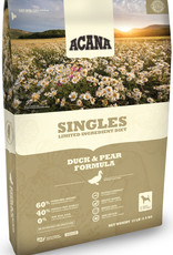CHAMPION PET FOOD ACANA DUCK & PEAR SINGLES 13LBS