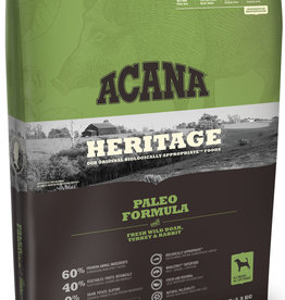 CHAMPION PET FOOD ACANA HERITAGE PALEO FORMULA 25LBS