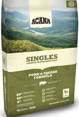 CHAMPION PET FOOD ACANA PORK & SQUASH SINGLES 25LBS
