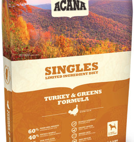 CHAMPION PET FOOD ACANA DOG SINGLES TURKEY & GREENS 25LBS