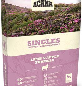 CHAMPION PET FOOD ACANA LAMB & APPLE SINGLES 25LBS