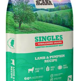 CHAMPION PET FOOD ACANA SINGLES LAMB & PUMPKIN WHOLESOME GRAINS 22.5LBS