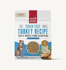 THE HONEST KITCHEN HONEST KITCHEN DOG GRAIN FREE TURKEY CLUSTERS 5LBS