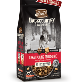 MERRICK PET CARE, INC. MERRICK BACKCOUNTRY GREAT PLAINS RED MEAT 10LBS