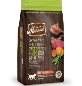 MERRICK PET CARE, INC. MERRICK GRAIN FREE LAMB & SWEET POTATO 22#