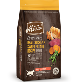 MERRICK PET CARE, INC. MERRICK GRAIN FREE CHICKEN & SWEET POTATO 25LBS